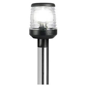 Classic/LED foldable pole light with hidden wires title=