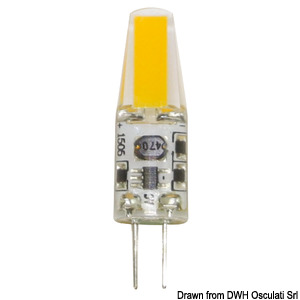 LED light bulb - G4 screw, 360° light title=