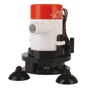 Aerator pump for baitwell/livewell tanks title=