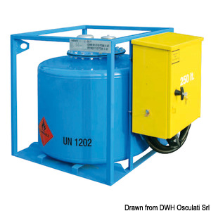 Portable pumping station for petrol (ADR type-tested) title=