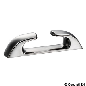 Straight fairlead made of stainless steel, Capri series title=