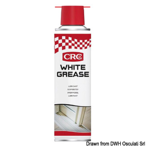 CRC - White Lithium lithium water-repellent white grease title=