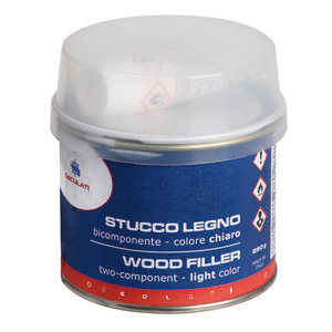 Filler for bicomponent wood title=