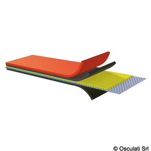 Orca R Pennel & Flipo neoprene fabric for making and repair of dinghies title=