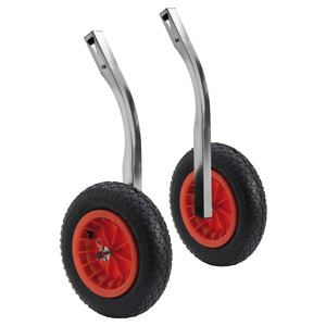 Transom tilting wheels for dinghies 180 kg