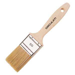 Paint brush with Ecolegno handle for varnish and paint title=