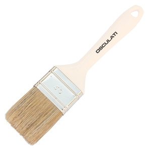 Paint brush with plastic handle for fiberglass title=