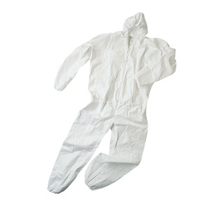 Coverall with hood title=