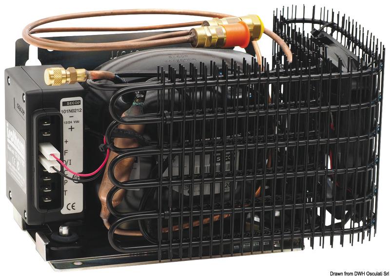 Kit refrigerante ISOTHERM ITC+evaporatore max 150l