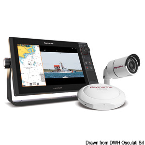 Augmented reality pack RAYMARINE with CAM 210 title=