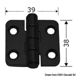 Black PVD line - 2-mm hinge title=