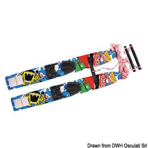 Θαλάσσιο σκι AIRHEAD Monsta Splash Trainer Skis από επεξεργασμένο ξύλο title=