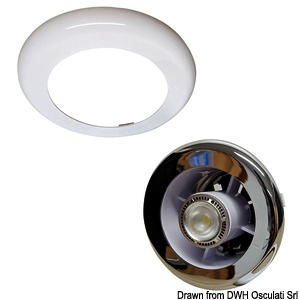 Extract and Light recess-fit LED spot light with extractor fan title=
