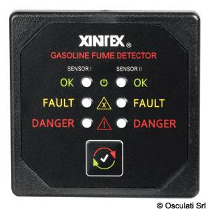 Rilevatore gas benzina XINTEX G-2B-R title=