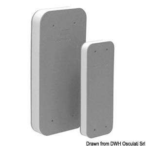 Flat fender profile grey EVA + PE 490 mm