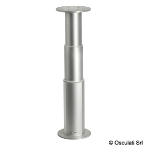 ROUND-ALU electrical table pedestal title=