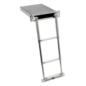 Hidden telescopic ladder - Standard version