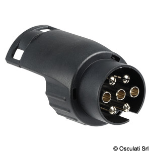 Electrical adapter for boat trailers title=