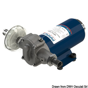 MARCO oil transfer electric pump with bronze gears title=