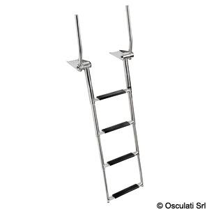 Раздвижная лестница EasyUp с ручками для площадок