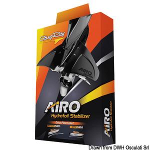 STINGRAY AIRO hydrofoil, screw mounting title=