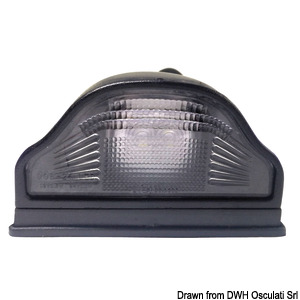 LED rear light for registration plate title=