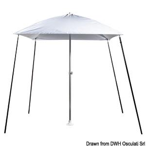 Parasol folding sun umbrella, for boats title=