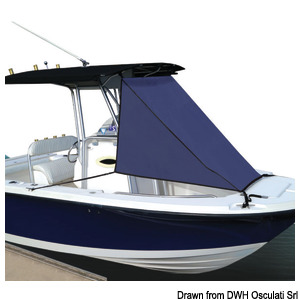 Front extension bimini top for T-tops title=