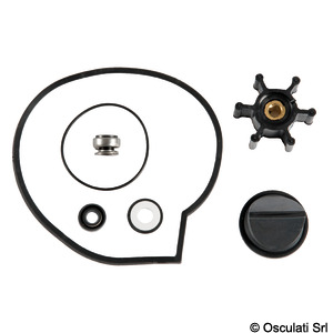 Kit gasket + spare valves for electric toilets