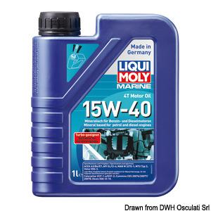 Marine 4T Motor Oil 15W-40 title=