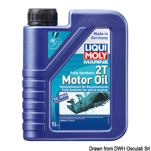 Marine Fully Synthetic 2T Motor Oil title=