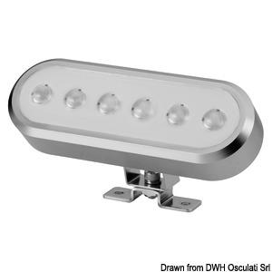 Φανός LED προσανατολίσιμος αυτόματης εγκατάστασης title=