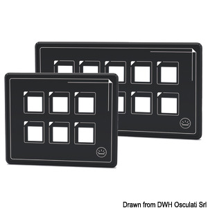 Ultra-thin touch-control electric panel including panel + USB cable + Control Box title=