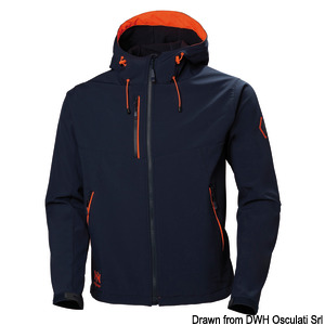 HH Chelsea Evo Hooded softshell title=