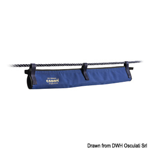 CADDY organizer for boat-to-dock electric cables and water hoses title=