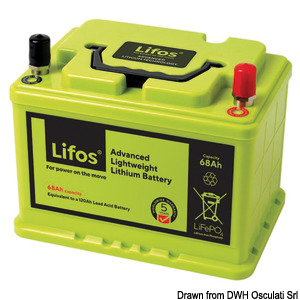 LIFO lithium battery for services title=