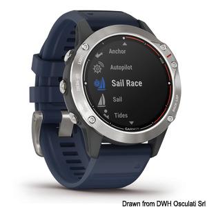 GARMIN Quatix 6 multifunction GPS watch title=