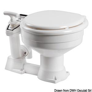 Γνήσια χειροκίνητη τουαλέτα εξαιρετικά ελαφριά RM title=
