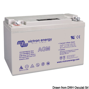 Batterie VICTRON AGM Deep Cycle title=