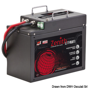 Batterie al litio ZENITH