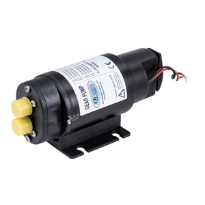 Self-priming pump with switch for transfer of gasoil, oil and water title=