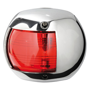 Classic 20 LED navigation light - 112.5° left SS cover