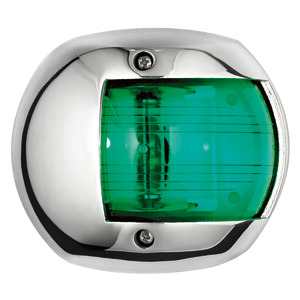 Classic 20 LED navigation light - 112.5° right SS cover