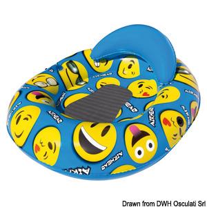 AIRHEAD Emoji Gang Pool Float title=